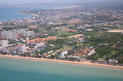 Pattaya and Jomtien, Thailand