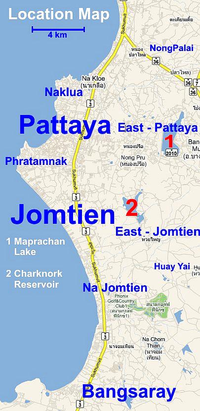 Locations Pattaya Jomtien