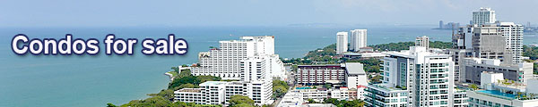 Condos for sale Pattaya and Jomtien