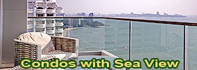 Condos with sea view for sale