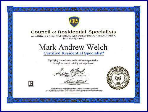 CRS Mark Andrew Welch