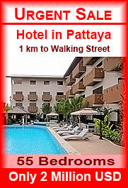 Pattaya Hotel for sale