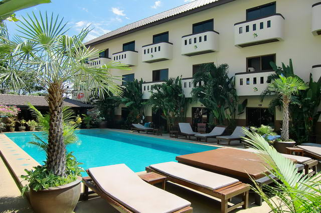 Resort/Service Apartments with Swimming Pool for Sale, 39 fully furnished rooms with kitchenette, facilities include: swimming pool, Italian restaurant, room service, high speed internet, security guard