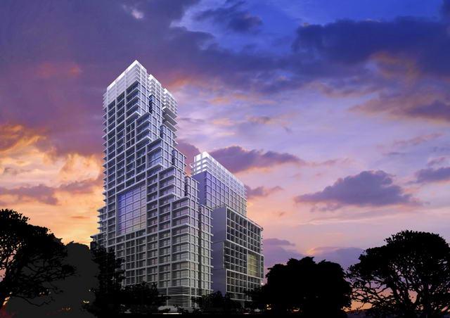 New Southpoint Pattaya Condo Privatverkauf, 71 qm, Obergeschoss, Pattaya Seite, 2 Schlafzimmer, 2 Bader, Euro Kuche, Einbauten, Balcon, Seeblick ** Preis 6. 2 M+ Baht Weniger als Entwickler Aktueller Preis