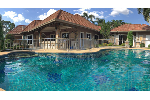 Nongpalai Pool Villa with Separate Guest House for Sale