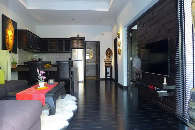 Open Plan Living Room Jomtien Beach Villa