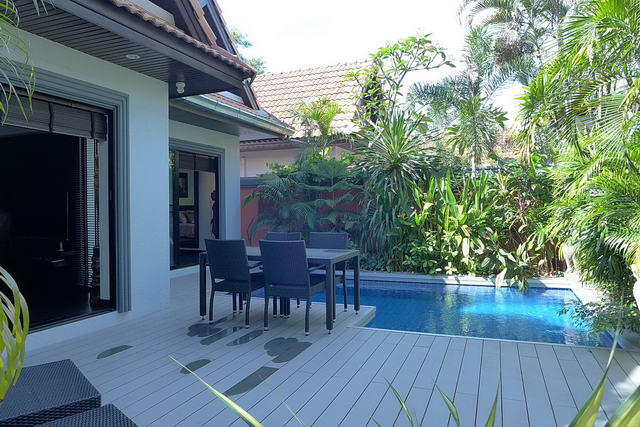 Jomtien Beach, View Talay Pool Villa for Sale, 2 b..