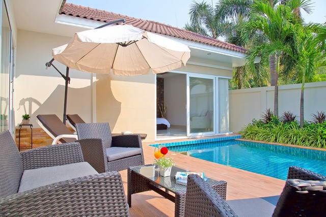 Huay Yai, Lotus Fields, New Pool Villa for Sale, b..