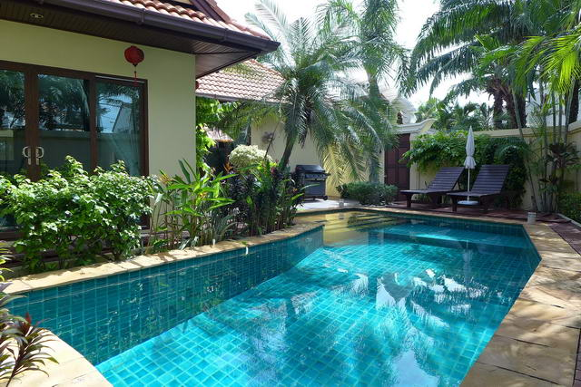 Jomtien Beach, View Talay Villa Thai Bali Pool Villa for Sale
