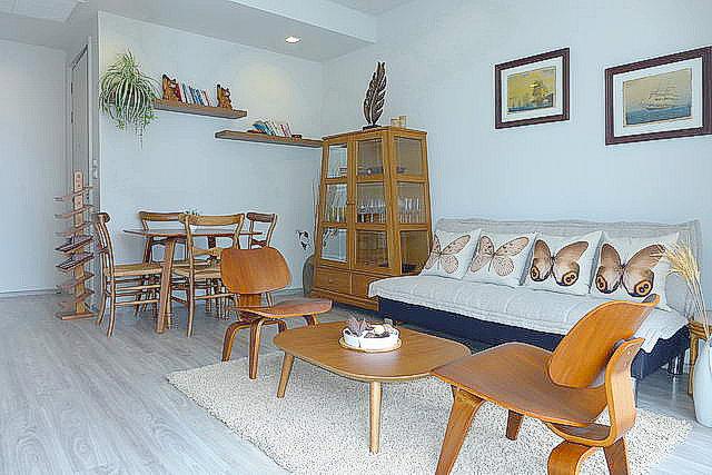 Wong Amat Beach Baan Plai Haad Condo Living Room