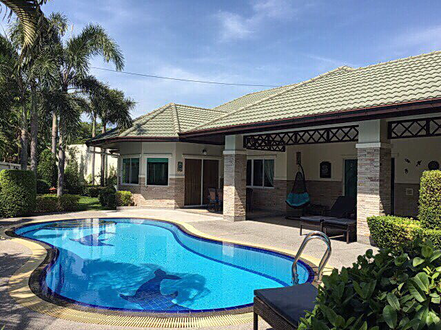 East Pattaya Green Field Village, Pool Villa  for Sale