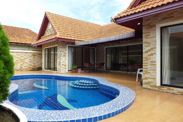 Jomtien Beach, View Talay Villa Thai Bali Pool Villa for Sale
