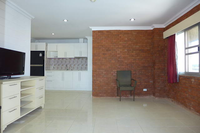 Condo for Sale Pattaya Balcony and Living Room