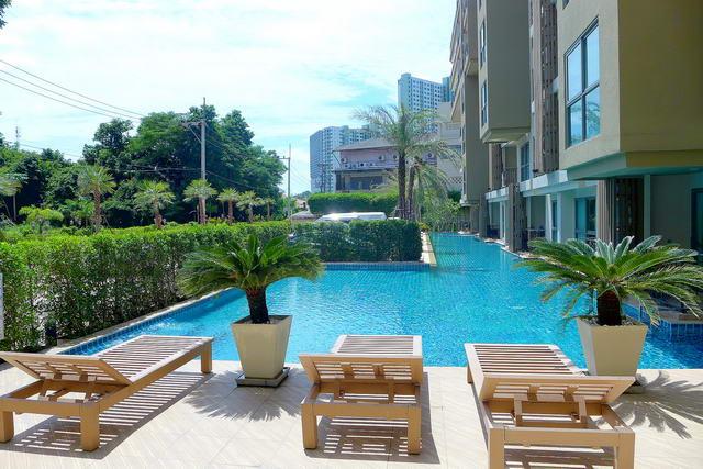 Wong Amat Beach, City Garden Tropicana Condo for S..