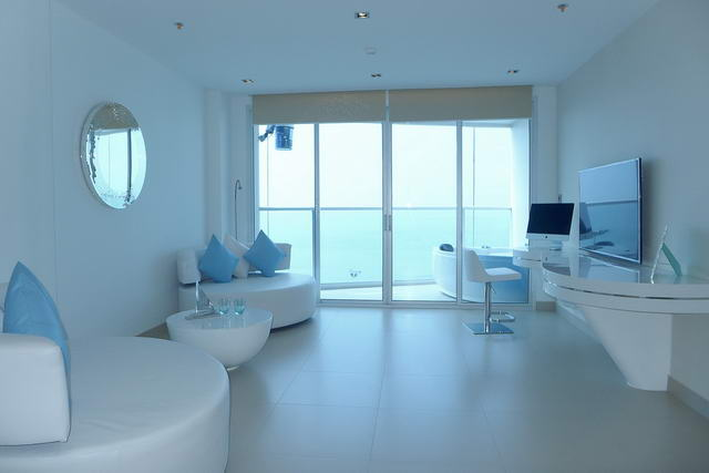 Pattaya Condo for Sale Open plan living room