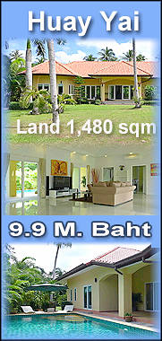 Modern Thai Bali Villa in East Pattaya for sale
