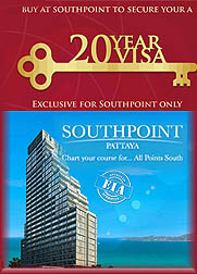 South Point Condo with Thailand visum Pattaya