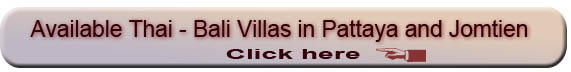 Villas in Thai Bali Style for sale